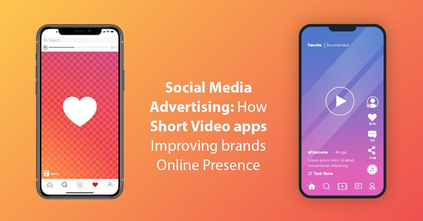Social media advertising on Short video apps